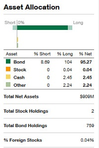 bond fund holdings